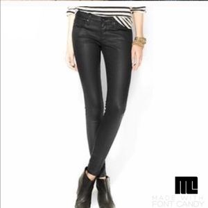 Gap coated jeans